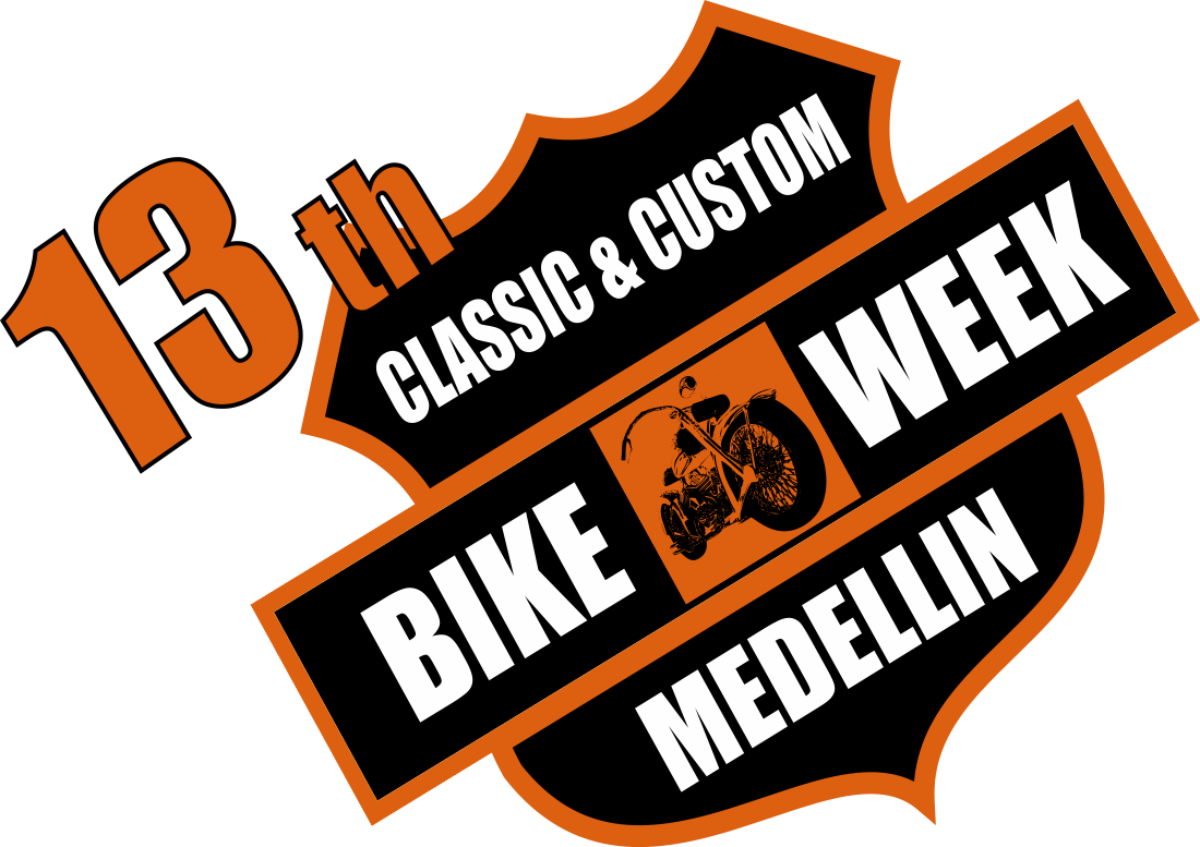 13th Classic & Custom Bike Week Medellín 2013.