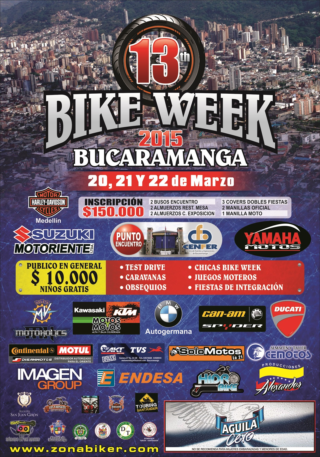 Crónica del 13th BIKE WEEK BUCARAMANGA 2015