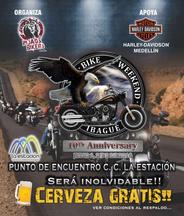 Bike Weekend Ibagué 2016