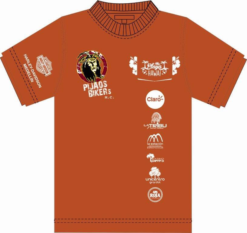Camiseta Bike Weekend Ibagué 2016