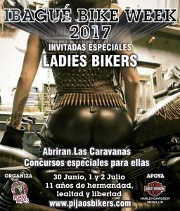 Invitadas Especiales Ladies Bikers