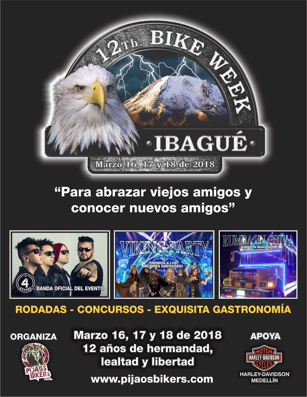 12th Bike Week Ibagué 2018